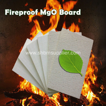 Damproof No-formaldehyde Fire-resistant 6mm MgO Board